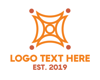 Group - Abstract Group Society Shape logo design