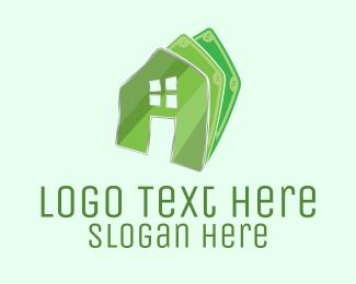 Money - Money House Rent logo design