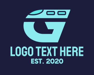 Train - Train Letter G logo design