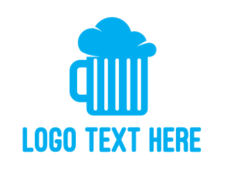 Gastro - Cloud Beer logo design