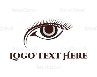 Cosmetic - Brown Eye logo design