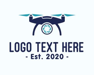 Drone Shop - Digital Drone Photography logo design