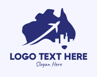 Melbourne - Australia Tour logo design