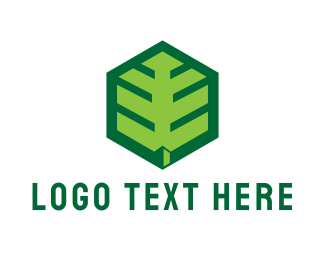 Geothermal Energy - Hexagon Nature  logo design