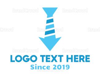 Reduce - Arrow Tie logo design