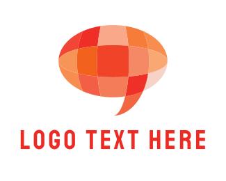 Chatter - Crystal Chat logo design