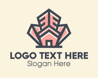 Builder - Home Realtor Property Builder logo design