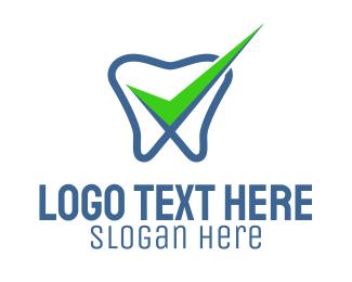 Logo Design - Check Out Dental
