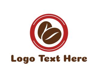 Kidney - Coffee Bean Circle logo design