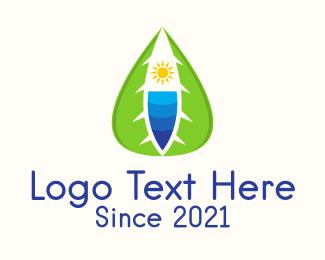 Resort - Tropical Beach Resort logo design