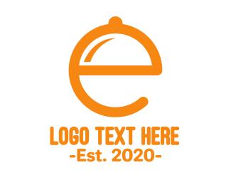 Waiter - E Tray logo design