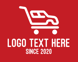 Shopping Cart - Automobile Shopping Cart logo design