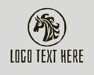 Animal - Safari Zebra logo design