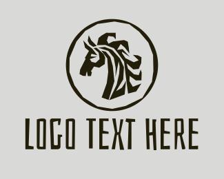 Jungle - Safari Zebra logo design