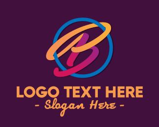 Sports - Colorful Professional Letter B  logo design