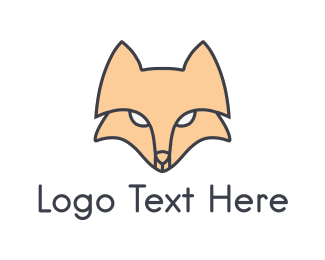 Fox - Fox Face logo design