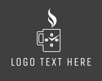 Time - Coffee Time logo design