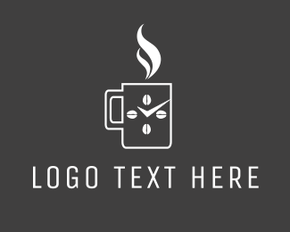 Latte - Coffee Time logo design