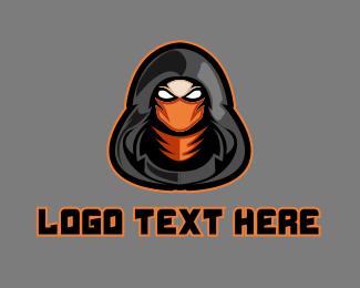 Ninja - Ninja Assassin Mascot logo design