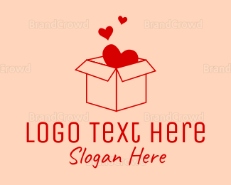 Sandbox - Love Box logo design