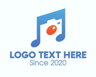 Music Player - Musical Photography logo design