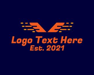 Racing - Fast Wings Racing logo design
