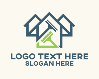 Household - House Cleaning Service logo design