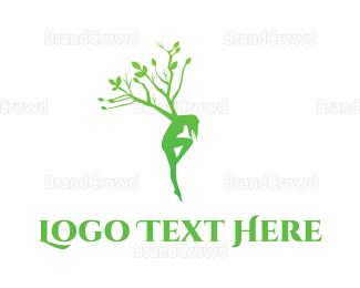 Lady - Tree Lady logo design