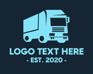 Auto - Cargo Trailer Transportation logo design