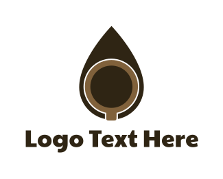 Coffee Mug - Coffee Drop logo design