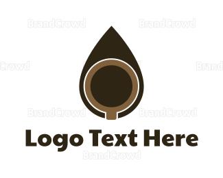 Coffee Mug - Coffee Drop logo design