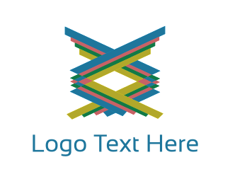 Tribal - Colorful Stairs logo design