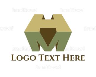 Fortune - M & H logo design