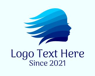 Beauty Spa Lady  Logo