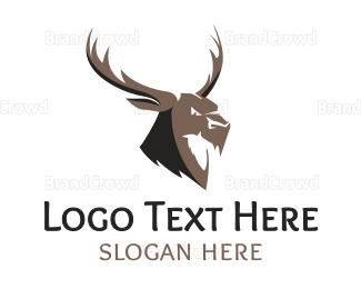 Angry - Angry Elk logo design