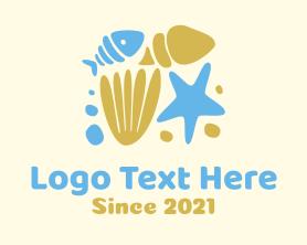 Shell - Ocean Fish Shells logo design