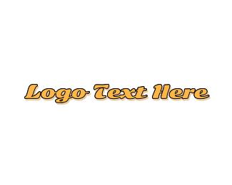 50s - Classic Retro logo design