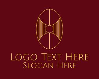 Company - Abstract Oval Company logo design