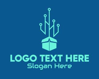Digital - Digital Box logo design