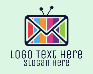 Tv Series - Media Mail logo design
