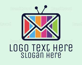 Post Office - Media Mail logo design