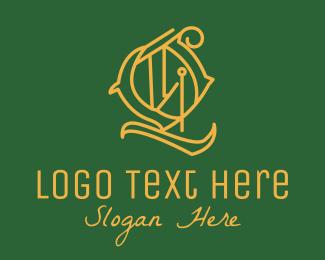 Stationery Shop - Detailed Circle Letter Q logo design