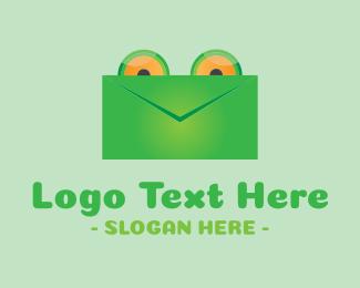 Stationery - Frog Mail logo design