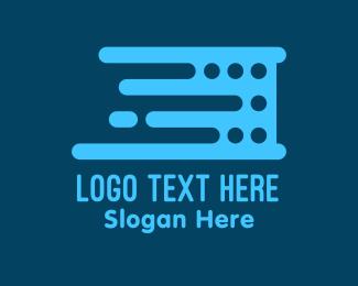 Motherboard - Data Server logo design