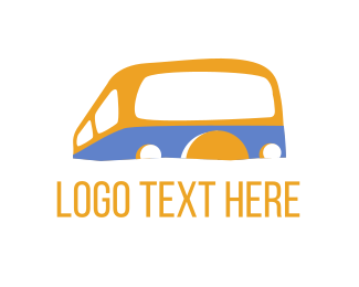 Bus - Campervan Bus logo design