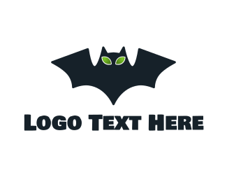 Martian - Alien Bat logo design
