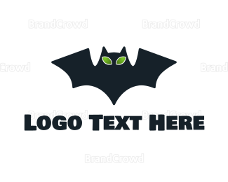Alien - Alien Bat logo design