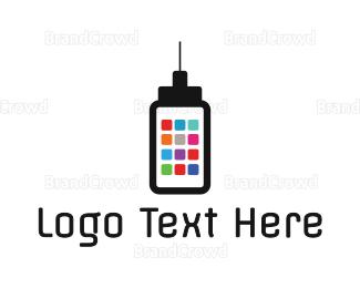 Messenger - App Tower logo design