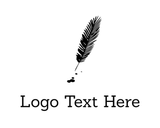 Publishing - Black Feather logo design