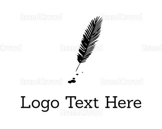 Feather - Black Feather logo design